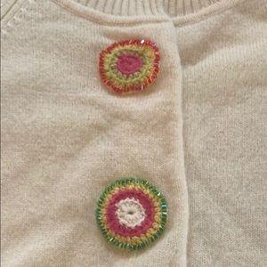 Cynthia Steffe 3/4 sleeve cashmere cardigan - M